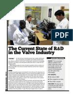 R & D _Valve Industry