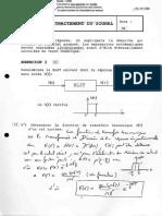 Utbm 2001 Sy53 Traitement Du Signal Pour Le Mecanicien Ingenierie Et Management de Process Semestre 1 Partiel
