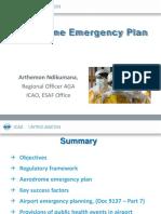 Aerodrome Emergency Plan Presentation