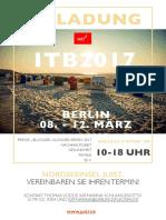 Nordseeinsel Juist lädt ein zur ITB 2017!