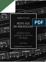 Fulgoni - Manuale Di Solfeggio - Vol 1