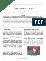 A Review Development of Pesticide Spraying Machine
