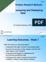 Week 7 Processing and Displaying Data SBoufous