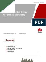 GSM&UMTS Key Event Assurance Summary 20121107-A-V1.0