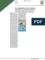 Morta la centenaria con 5 lauree - Il Resto del Carlino del 17 dicembre 2016