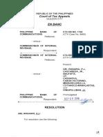 PNB v. CIR CTA En Banc Case
