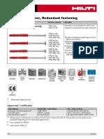 HRD C Frame Anchor TDS