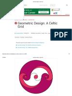 Geometric Design a Celtic Grid