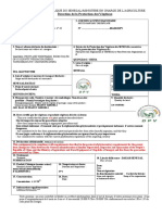 Certificat Phyto Quingdao 6tc Arachide