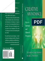 Creative Abundance Affirmations to Create Heal and Transform Sample