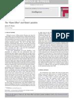 Flynn - The Flynn Effect and Flynn s Paradox