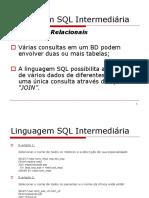 06 - Linguagem SQL - Intermediária