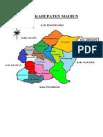 Peta Kabupaten Madiun Aa
