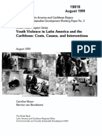 MOSER, Caroline. BRONKHORST, Bernice Van. Youth Violence in Latin America and The