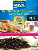 Healthy Tasty Affordable Latin Cooking