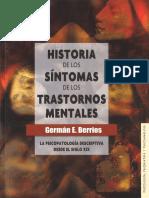 Berrios German E - Historia De Los Sintomas De Los Trastornos Mentales.pdf