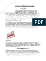 principles of game design