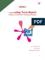 67739377 Surf Excel Marketing Report Copy Copy
