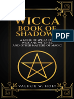 Wicca Book of Shadows_ a Book of Spells for Wiccans, Witches, And Other Mas