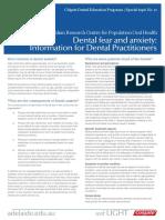 Dental Fear Professional