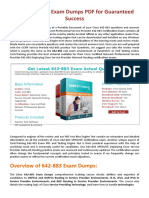 [Christmas offer] 30% Off 642-883 Exam Questions Pdf - Cisco 642-883 Dumps