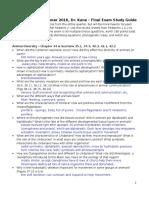 Ls1 Final Study Guide