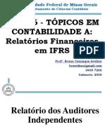 Aula 10_Relatório Dos Auditores Independentes