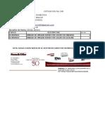 Cotizacion Modelo