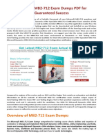 [Christmas offer] Get 30% Off on MB2-712 Exam Questions Pdf
