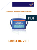 Land Rover Technical Specifications Feb 10
