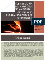Emisiones de Fundición y Nueva Normativa Medio Ambiental