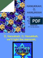Hanukkah, O, Hanukkah