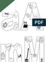 Literele Alfabetului Puzzle 00089