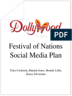 festival of nations social media plan