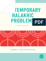 Contemporary Halakhic Problems Excerpt