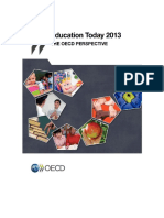 Education Today 2013 OECD