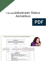 Penatalaksanaan Status Asmatikus