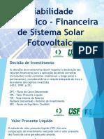 Viabilidade de Projetos Fotovoltaicos - Leonardo Energy