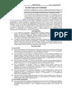 Convenio de Coordinacion en Materia de Reasignacion de Recursos, Gob Morelos y Sectur 2010