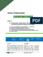 Modul 8 Hidrologi