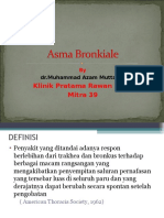 Presentasi  Asma-bronkiale