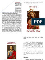 Novena to the Christ the King