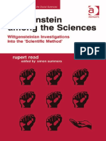 [Rupert Read, Simon Summers, (Eds.)] Wittgenstein among the Sciences.Wittgensteinian Investigations into the 'Scientific Method'