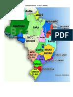 Cardapios de Peru y Brasil