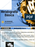 Modulo de Metalografia Basica