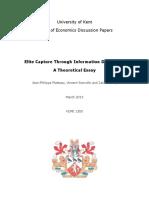 4910 Elite Capture Through Information Distortion