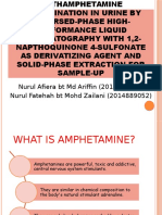 Amphetamine & Methamphetamine Determination in Urine by Reversed-phase