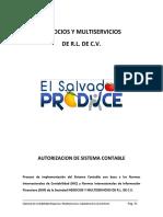 Catalogo y Manual de Cuentas