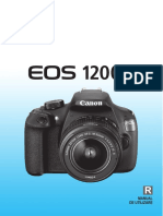 Canon EOS 1200D - Manual Complet