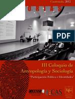 Antropología y Sociología_2012